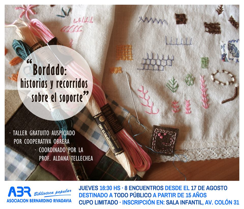 Flyer Bordado